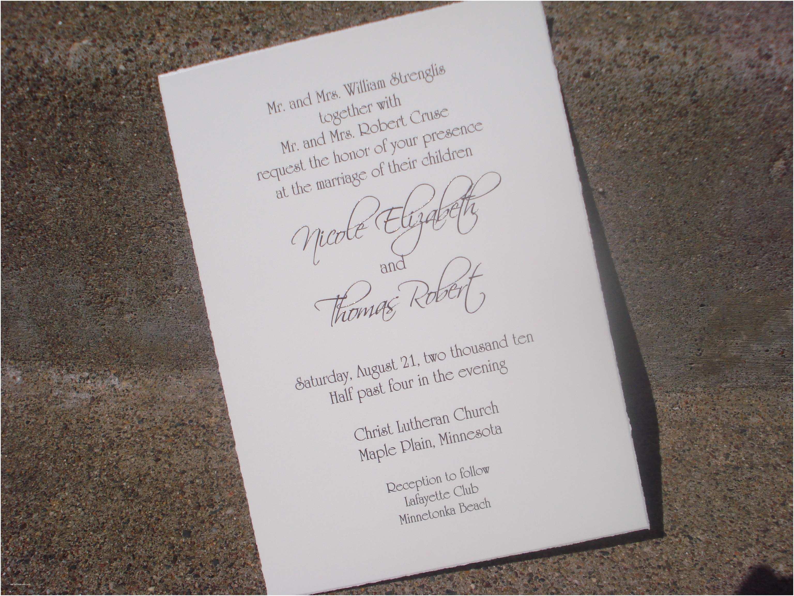 Divorced Parents Wedding Invitation Wedding Invitation Wording Divorced Parents Not Married