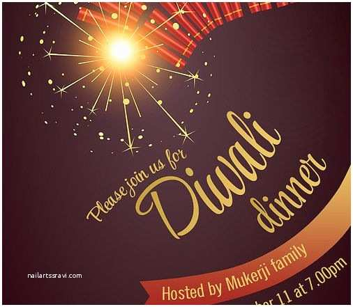 Diwali Party Invitation 11 Best Free Diwali Invitation Cards and Wording Samples
