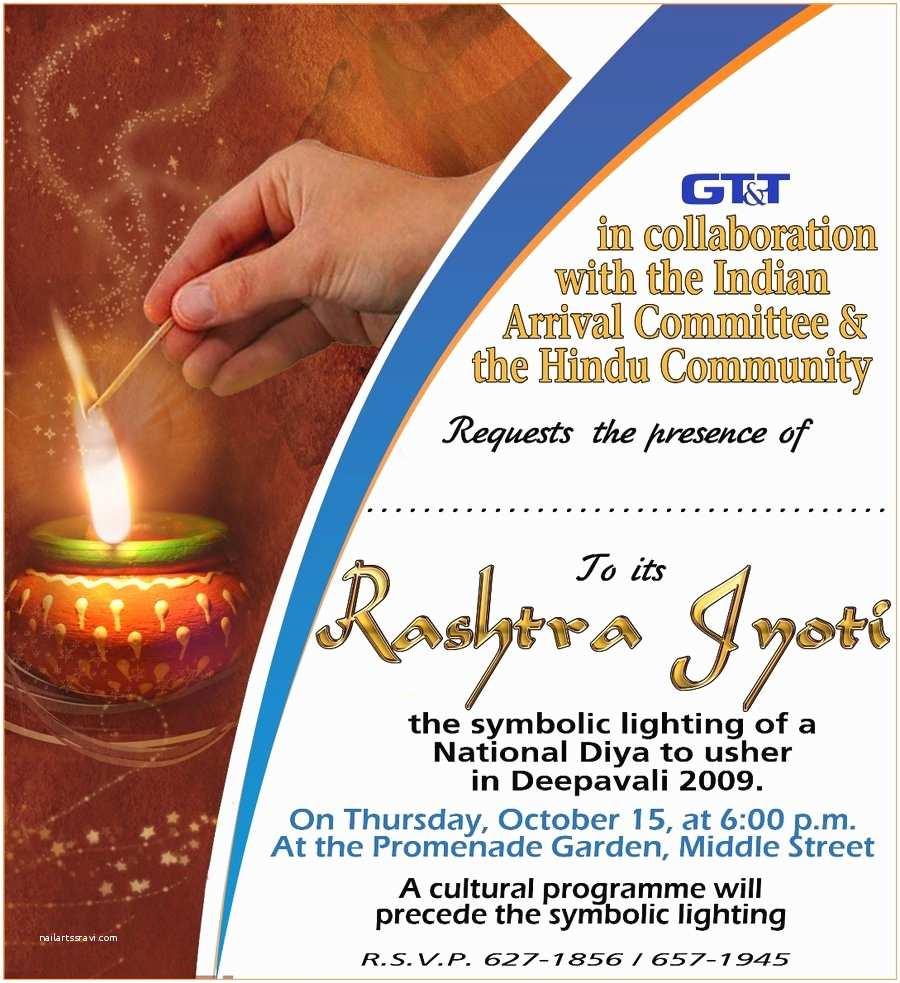 Diwali Party Invitation Cool Diwali Invitation And Greeting Card Design Samples
