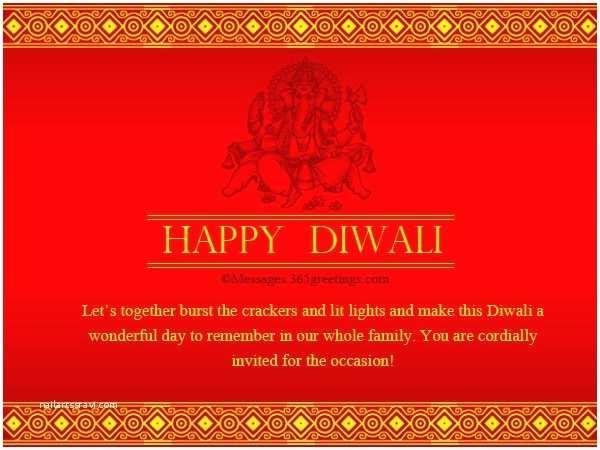 Diwali Party Invitation Diwali Festival 2017 Celebration Greetings With