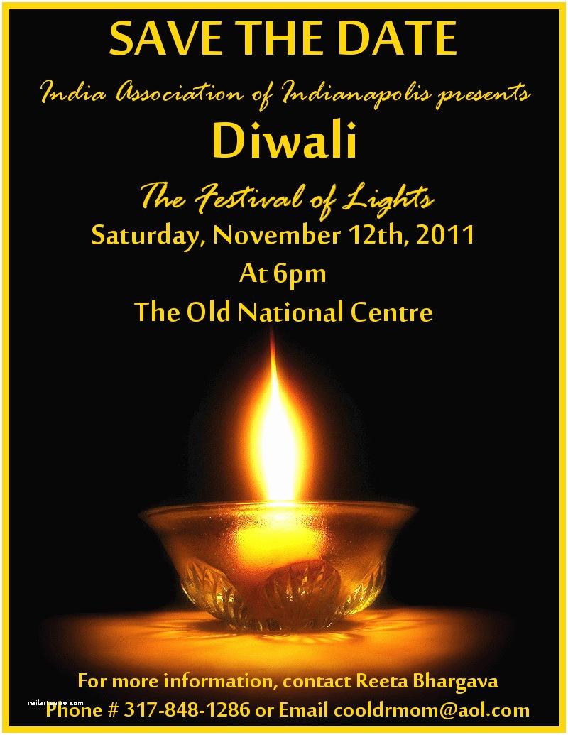 Diwali Party Invitation Diwali Festival Lights Celebration Invitation Card