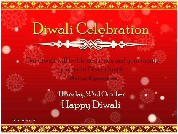 Diwali Party Invitation Diwali Invitation Wordings Messages Wordings And