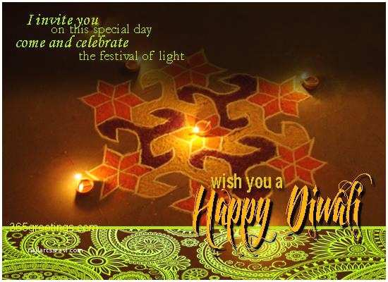 Diwali Party Invitation Diwali Party Invitation Post Card From