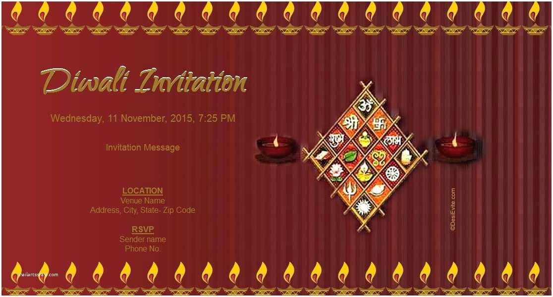 Diwali Party Invitation Invitation Card Diwali Choice Image Invitation
