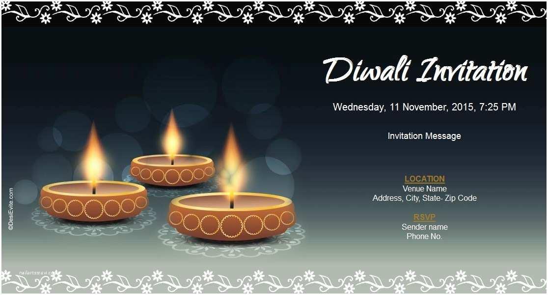 Diwali Party   Letter Format For Diwali