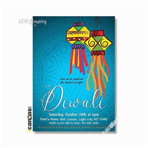 Diwali Party Invitation Items Similar to Diwali Dinner Party Invitation Festival