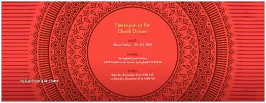 Diwali Party Invitation Line Diwali Party Invitations