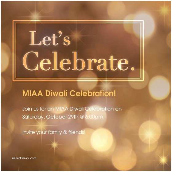 Diwali Party Invitation Miaa Diwali Party Line Invitations & Cards by Pingg