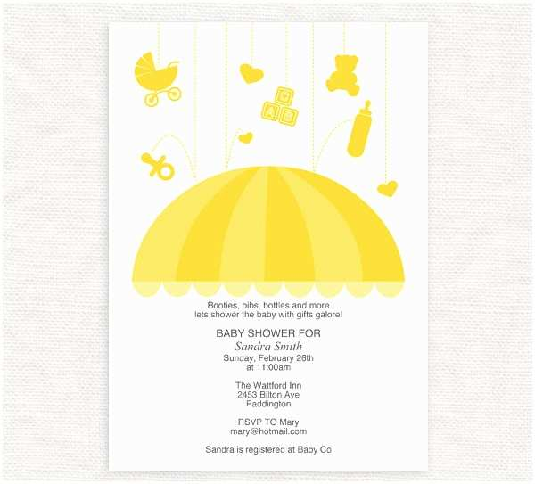 Diy Baby Shower Invitations 14 Baby Shower Invitations Free Sample Example Design
