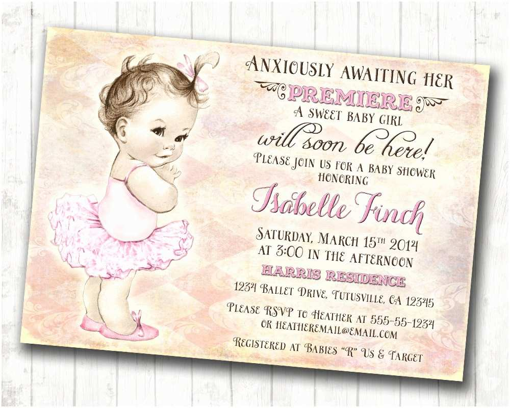 Diy Baby Shower Invitations Design Baby Girl Shower Invitations Diy Baby Girl Baby