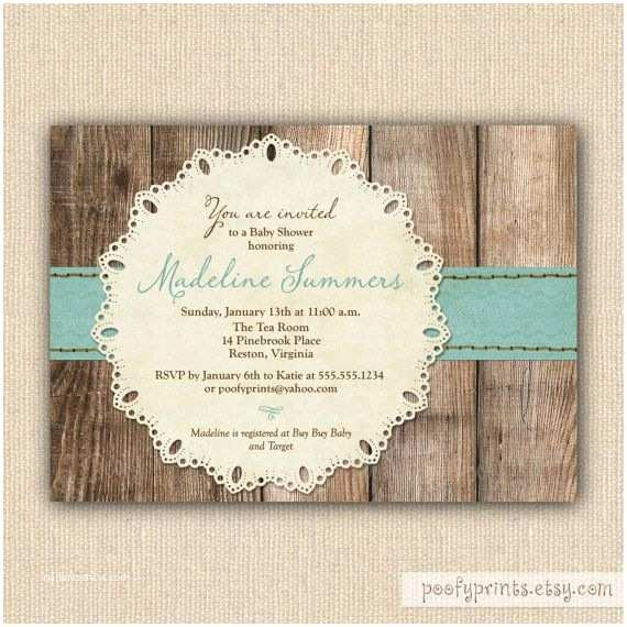 Diy Baby Shower Invitations Rustic Baby Boy Shower Invitations Diy Printable Baby