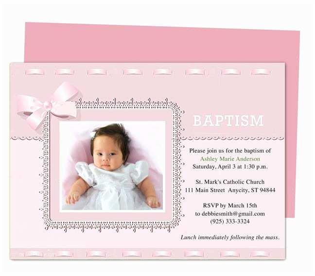 Diy Baptism Invitations 21 Best Printable Baby Baptism and Christening Invitations