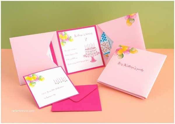 Diy Birthday Invitations 88 Free Invitation Cards