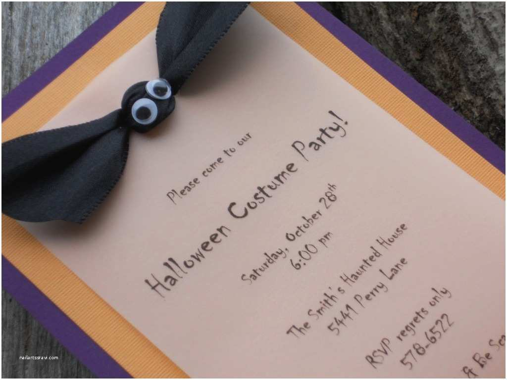 Diy Birthday Invitations Homemade Party Invitation Ideas With Ribbon Design