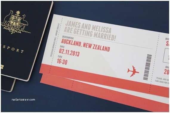 Diy Boarding Pass Wedding Invitations Boarding Pass Diy Printable Invitation $39