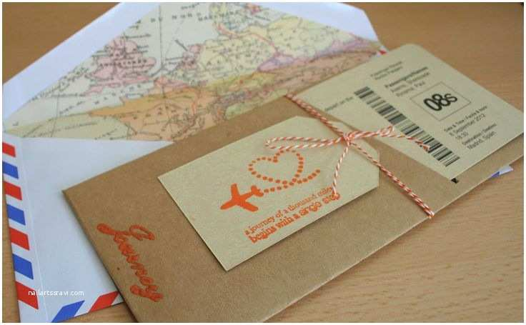 Diy Boarding Pass Wedding Invitations Boarding Pass Travel themed Wedding