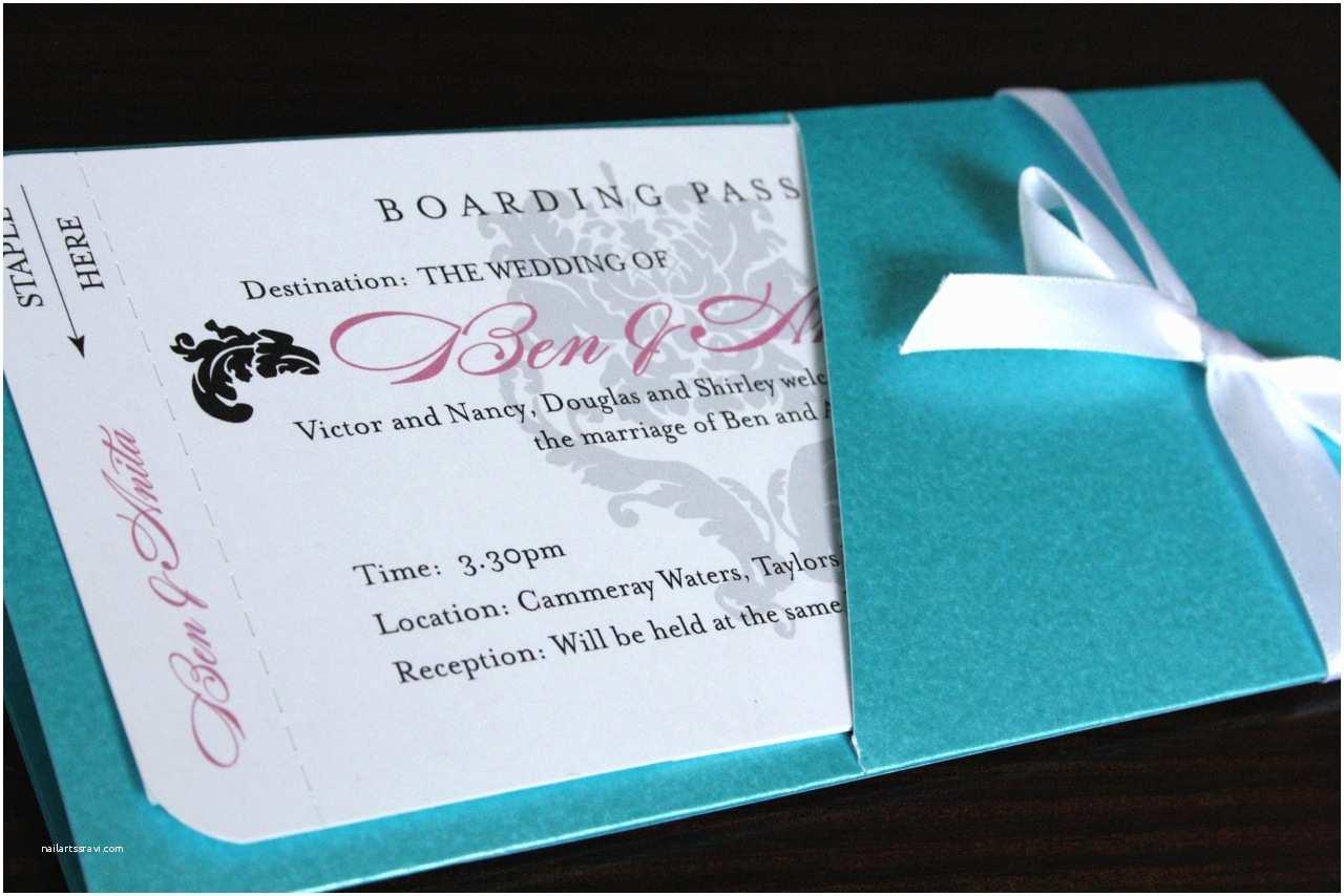 Diy Boarding Pass Wedding  Purple Wedding  Boarding Pass Wedding