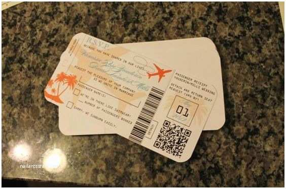 Diy Boarding Pass Wedding Invitations Vanessa S Diy Passport Wedding Invites & Rsvp Boarding