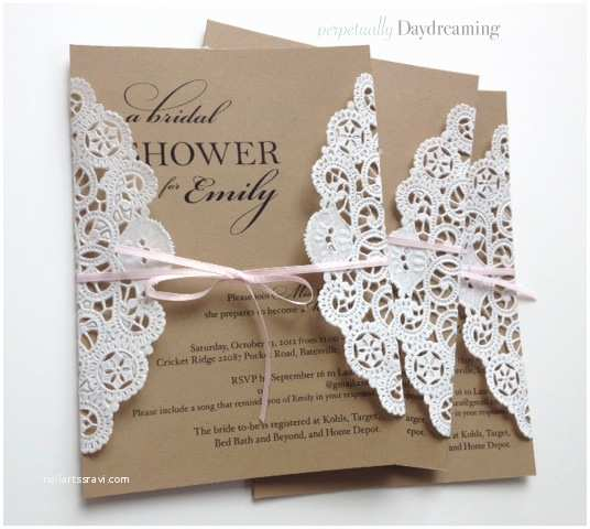Diy Bridal Shower Invitations An Elegant Country Bridal Shower Idea Board Perpetually
