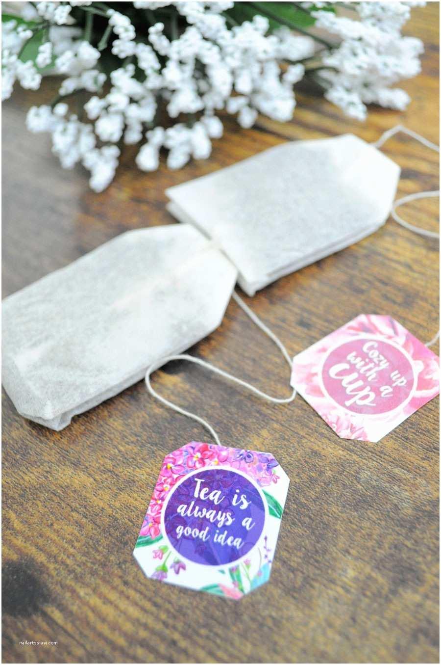 Diy Bridal Shower Invitations Diy Bridal Shower Tea Party Invitations