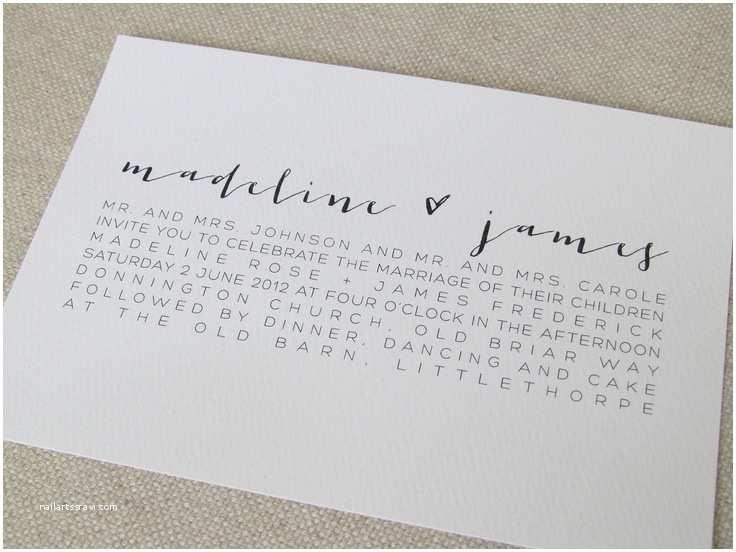 Diy Calligraphy Wedding Invitations Best Diy Calligraphy Wedding Invitations Styles