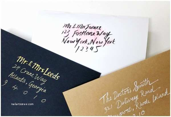 Diy Calligraphy Wedding Invitations Diy Details for Your Wedding Invitation Suite