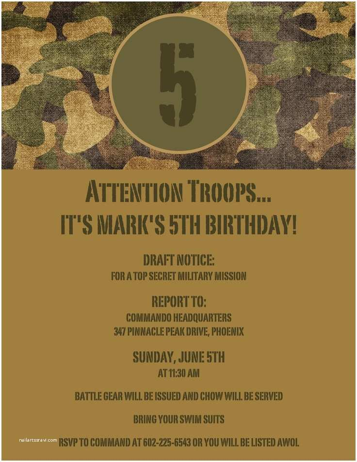 Diy Camo Wedding Invitations 102 Best Images About Army themed Birthday Party On