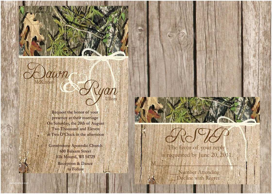 Diy Camo Wedding Invitations Emejing Country Camo Wedding Ideas Styles & Ideas