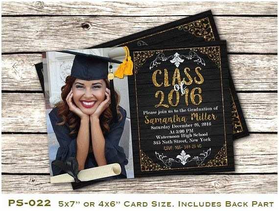 Diy Graduation Invitations 10 Best Ideas About High School Graduation Invitations On