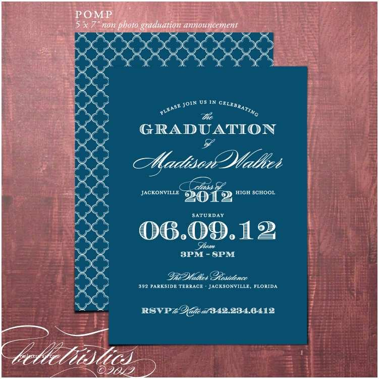 Diy Graduation Invitations Belletristics Stationery Design and Inspiration for the