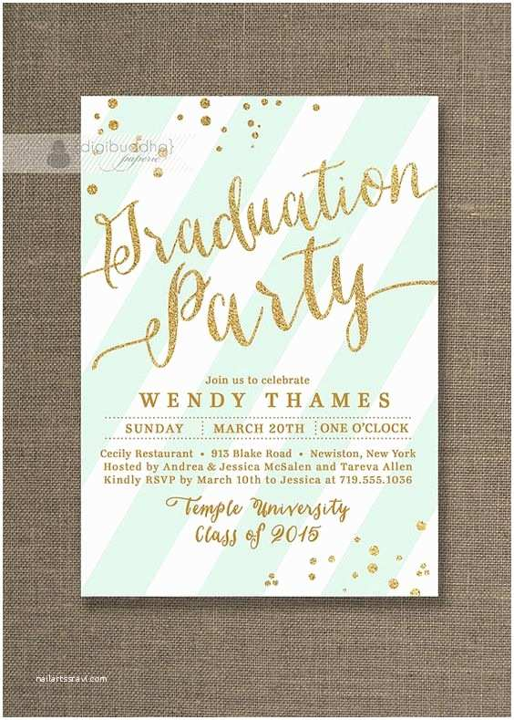 Diy Graduation Invitations Graduation Party Invitations Graduation Parties and Party