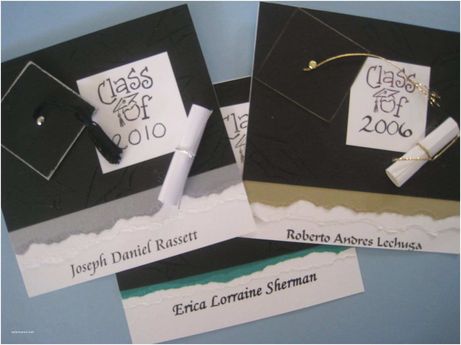 Diy Graduation Invitations Handmade Graduation Invitation Ideas