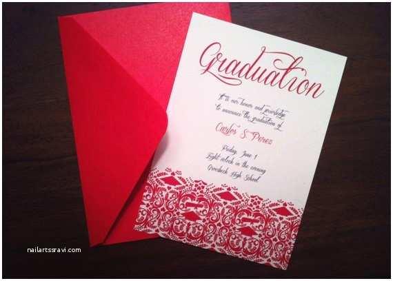 Diy Graduation Invitations Items Similar to Diy Graduation Invitation Announcement