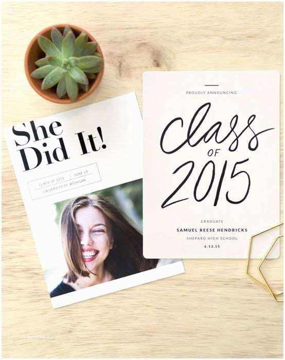 Diy Graduation Invitations Pinterest Graduation Invitations