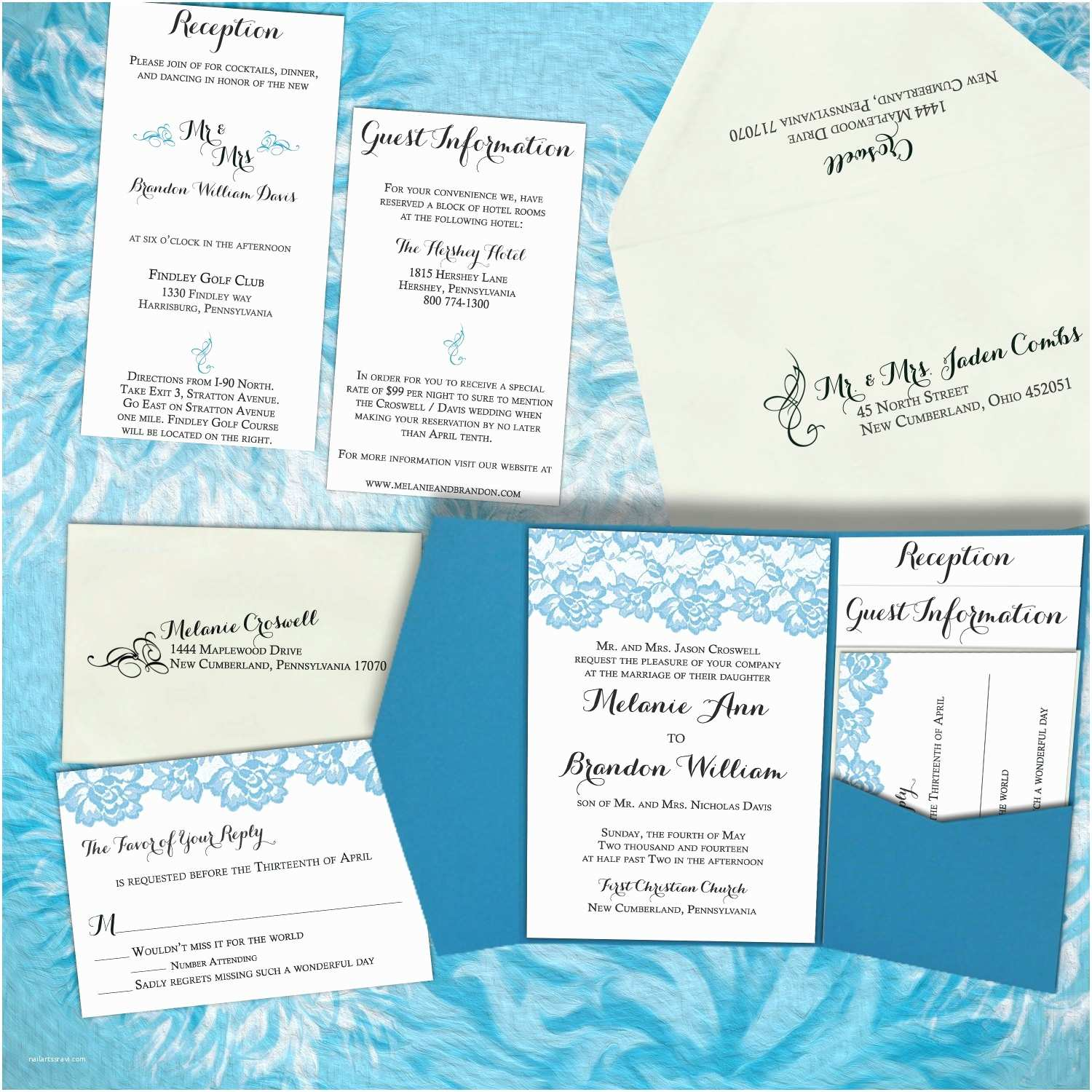 Diy Lace Wedding Invitations Diy Wedding Invitation Vintage Lace – Modern Wedding