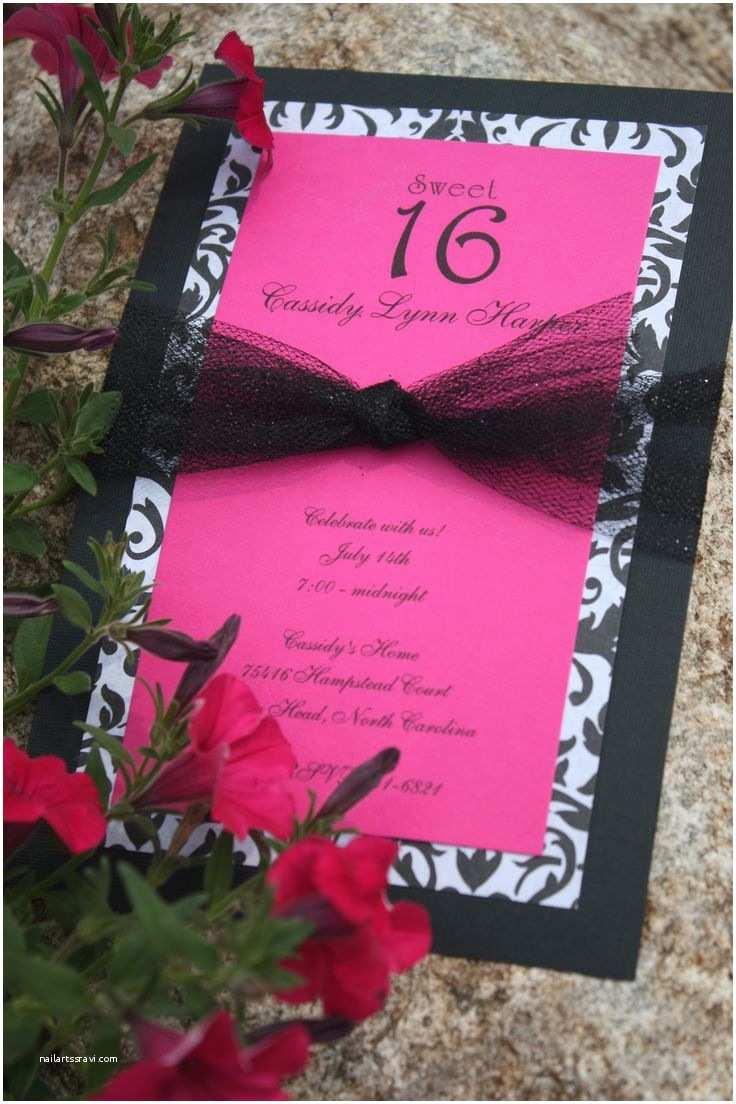 Diy Party Invitations Best 25 Homemade Invitations Ideas On Pinterest