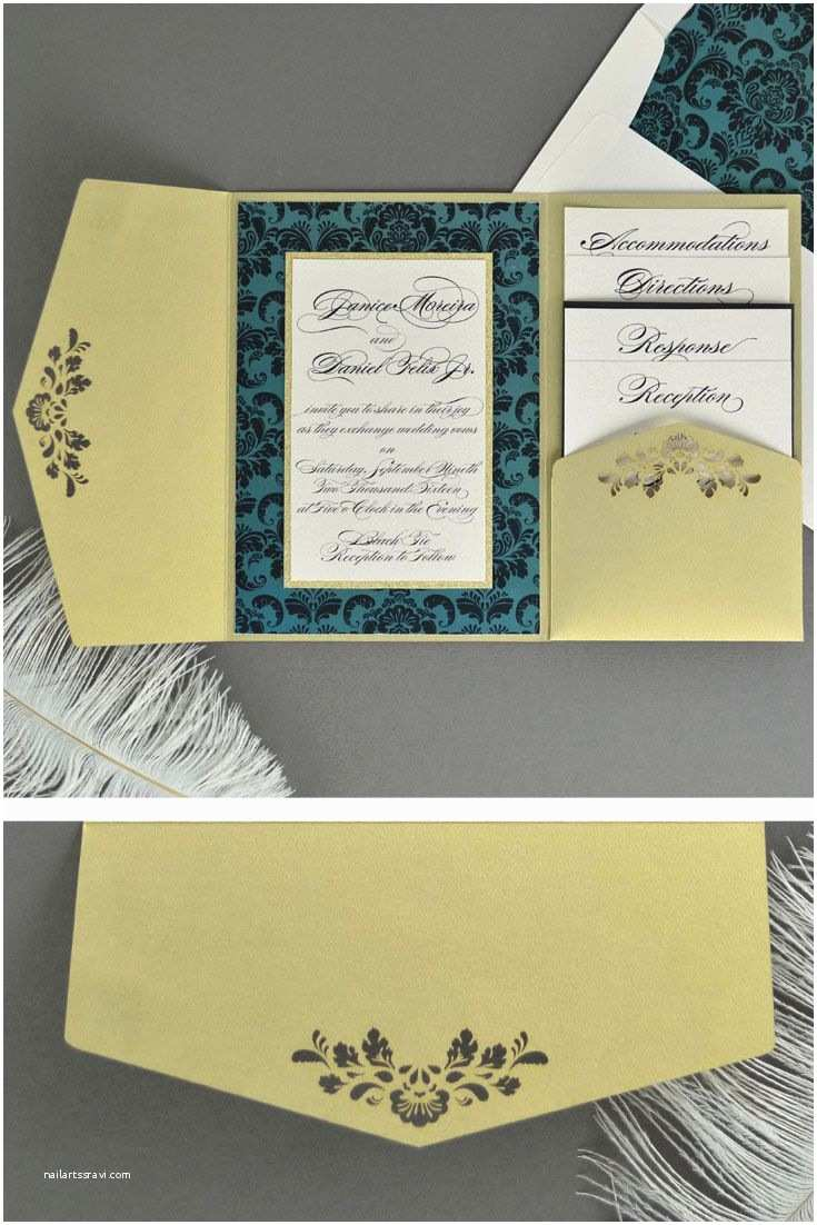 Diy Pocket Wedding Invitations 49 Best Cards & Pockets Creations Images On Pinterest