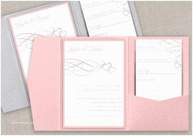 Diy Pocket Wedding Invitations Diy Pocket Wedding Invitation Set Instant Download