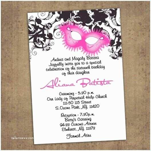 Diy Quinceanera Invitations 28 Best Images About Quincenera Invites On Pinterest