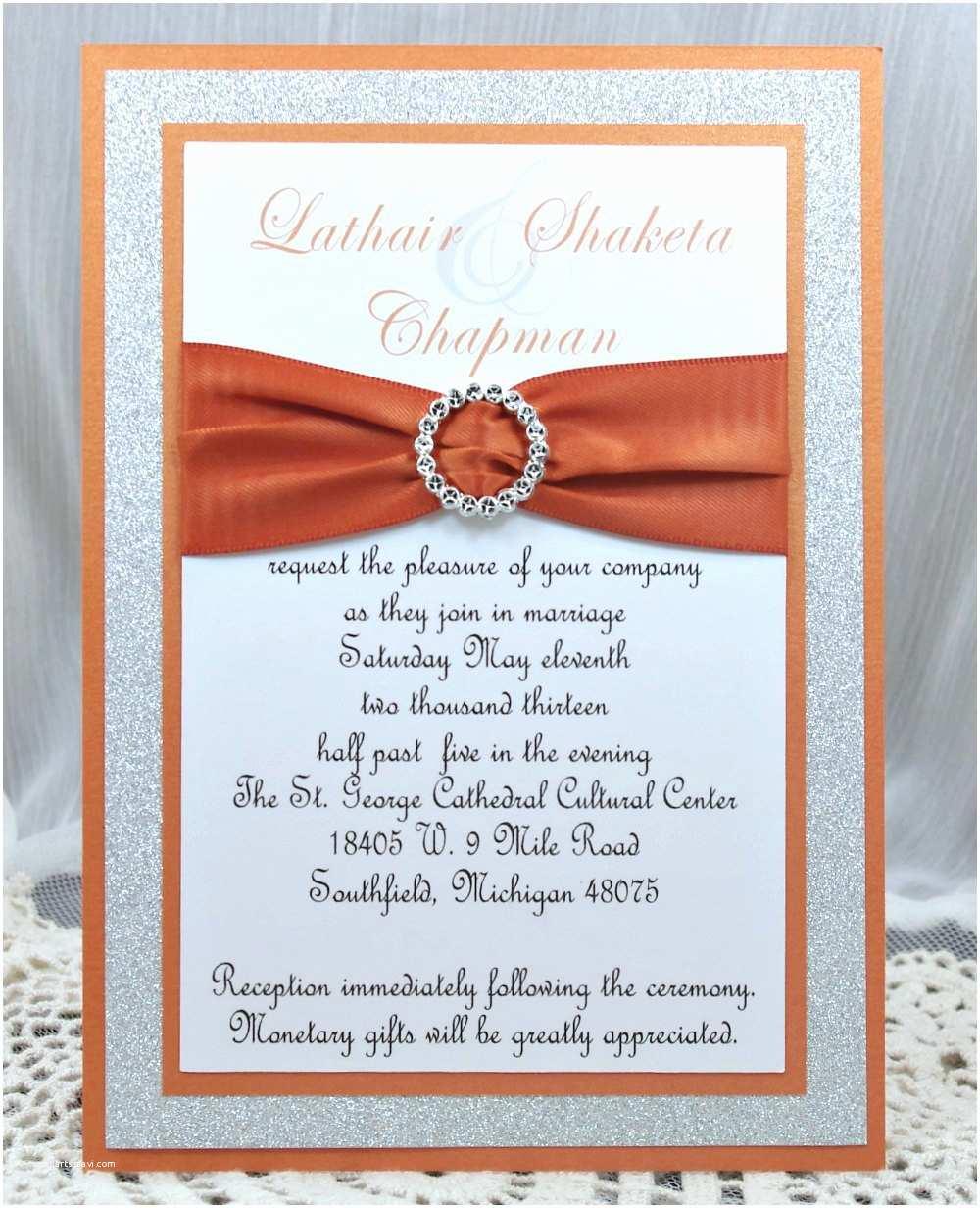 Diy Quinceanera Invitations Diy Burnt orange Wedding Quinceañera Sweet Sixteen by