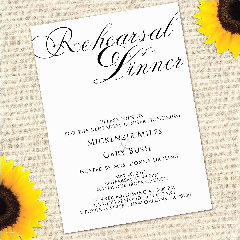 dinner invitation wording