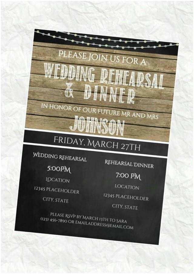 Diy Rehearsal Dinner Invitations Rehearsal Dinner Invitation Rehearsal Dinner Invite