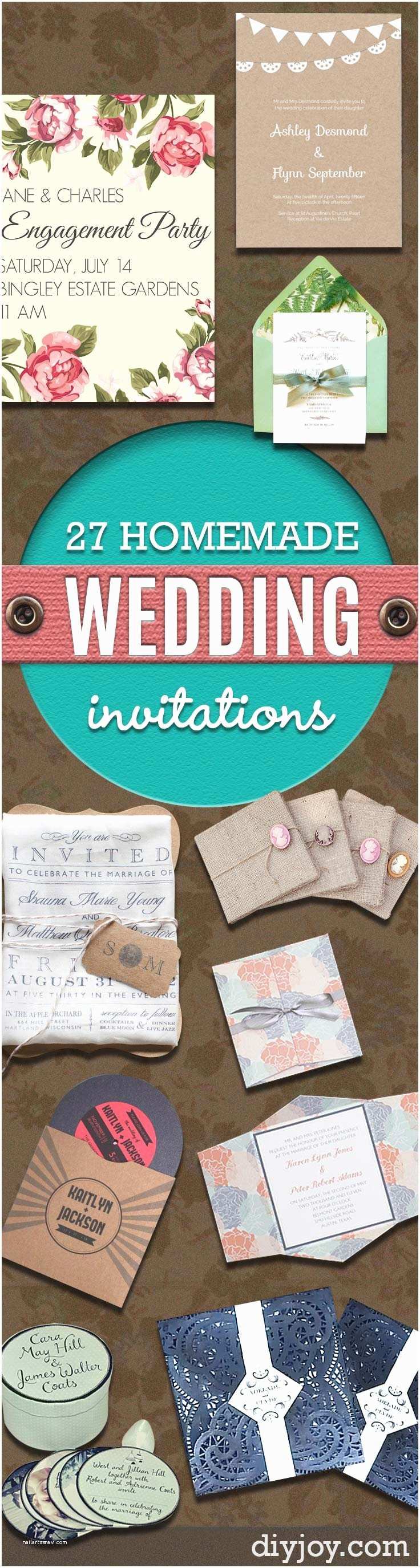 Diy Vintage Wedding Invitation Ideas 27 Fabulous Diy Wedding Invitation Ideas