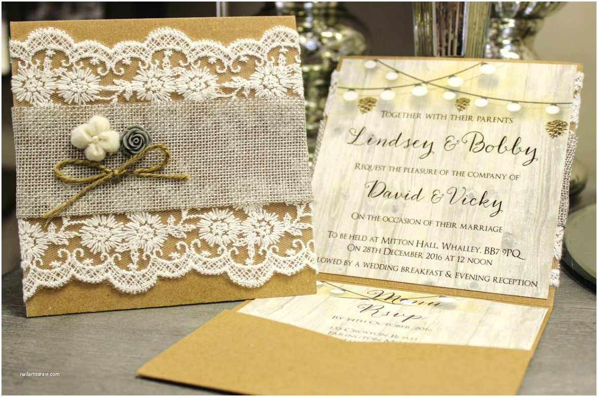 Diy Vintage Wedding Invitation Ideas Rustic Vintage Wedding Invitations