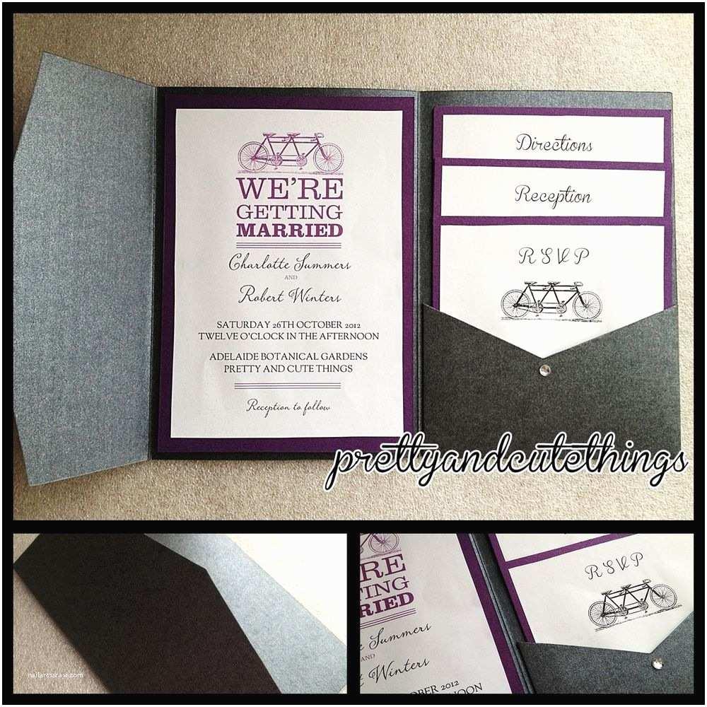 Diy Wedding Invitation Envelopes Black Metallic Shimmer Wedding Invitations Diy Pocket