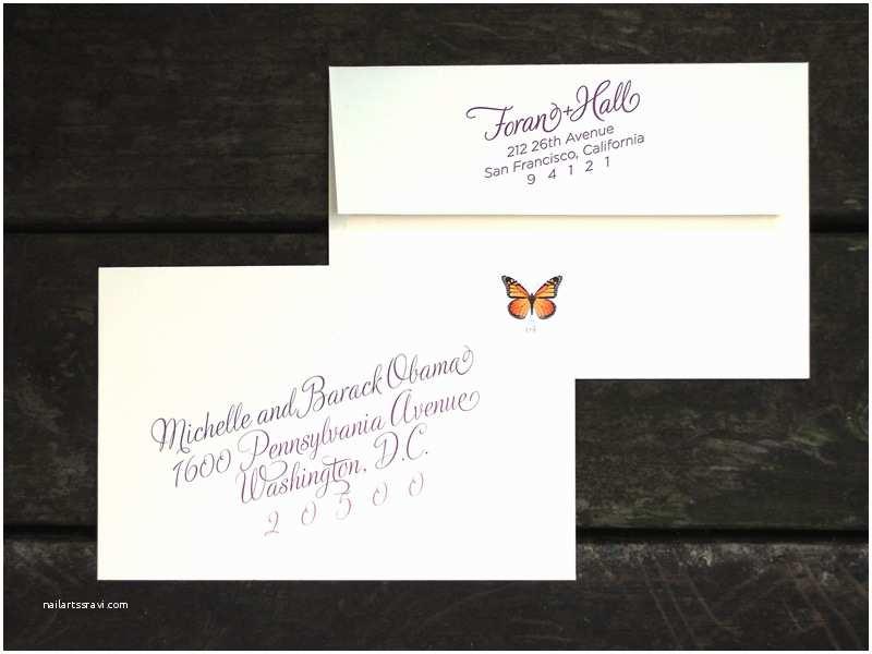 Diy Wedding Invitation Envelopes Custom Wine Harvest Wedding Invitation Outer Envelope with