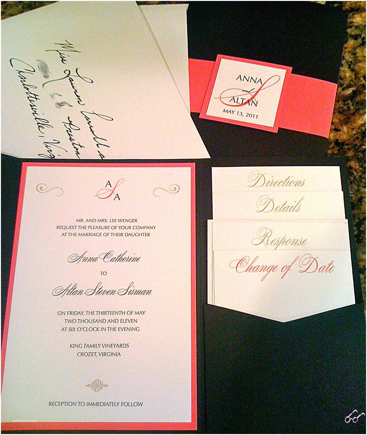 Diy Wedding Invitation Envelopes Simply Handwritten Diy Wedding Invitations and Envelope