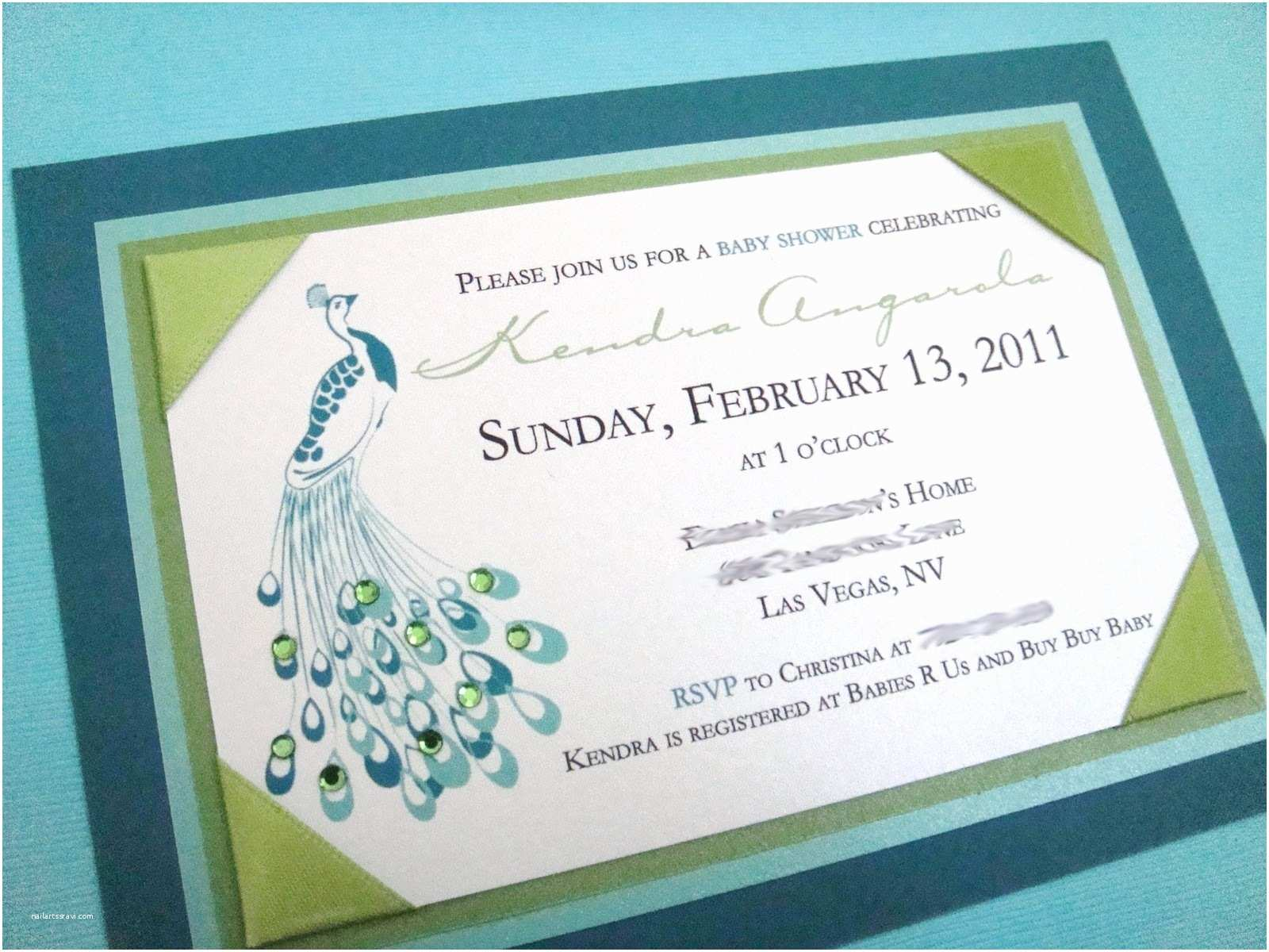 Diy Wedding Invitation software Peacock themed Wedding Invitations Template