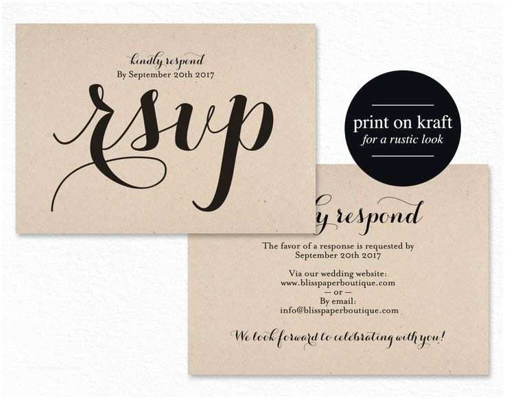 Diy Wedding Invitations and Rsvp Cards Best 25 Diy Wedding Rsvp Cards Ideas On Pinterest