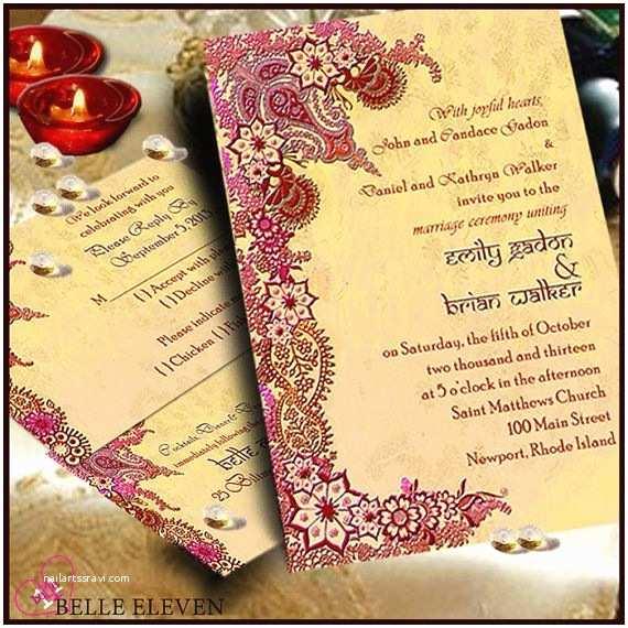 Diy Wedding Invitations and Rsvp Cards Diy Printable Wedding Invitation Rsvp Reception Card